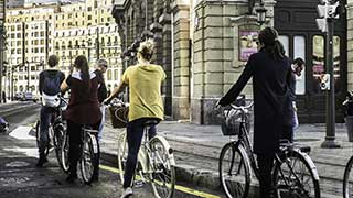 Cykeltur med guide i Bilbao