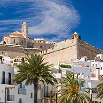 Old town of Ibiza Walking Tour