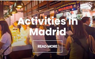 Activities, guided tours and excursions Madrid