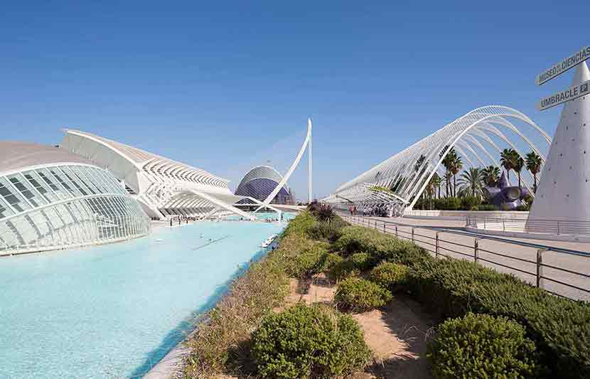 Arts and sciences Museum in Valencia